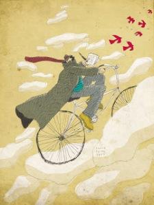 bici voladora