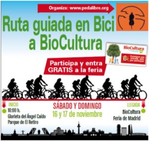 Ruta guiada a Biocultura