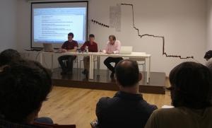 Reunión de los grupos miembros de Conbici en la Sede de la Oficina de Turismo de Almansa.
