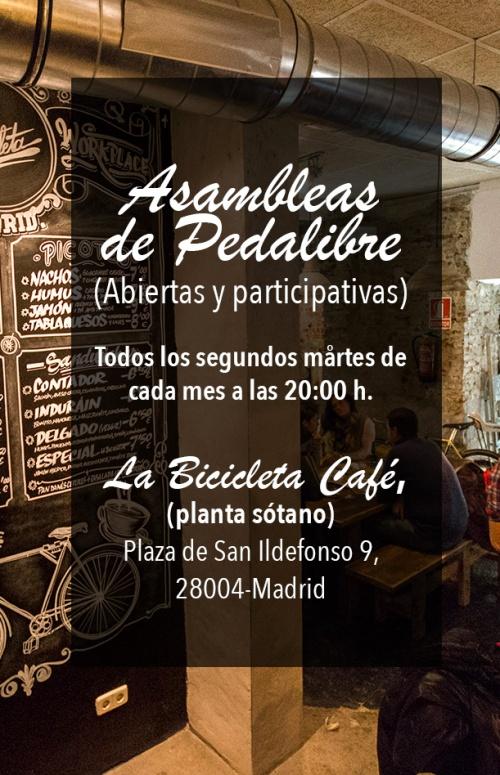 ASAMBLEAS DE PEDALIBRE