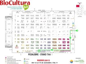 Plano BioCultura Madrid a 21.07.2015