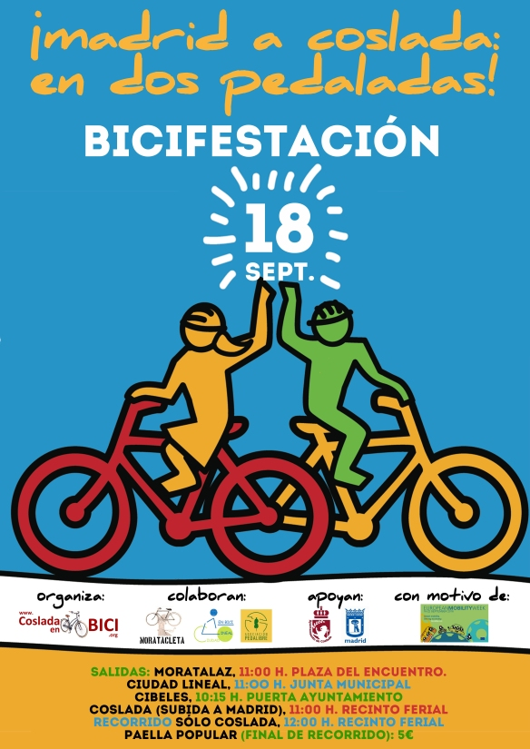cartel-bicifestacion-madrid-coslada-madrid-18-09-2016