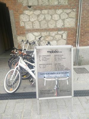 Alquiler de bicis Mobeo