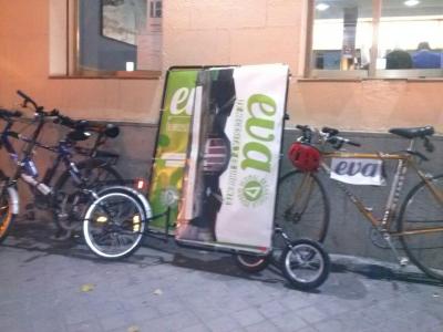 Bicicarro de EVA