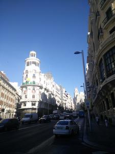 Entrada a Gran Vía desde Alcalá