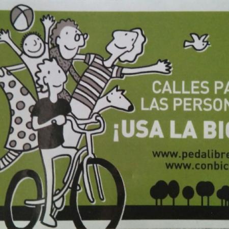 Calles para las personas ¡Usa la bici!