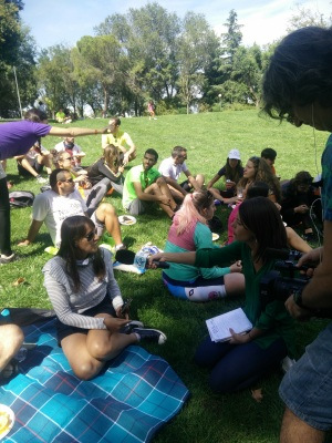 Entrevista a Pilar de Pedalibre en Coslada
