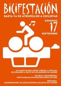 Bicifestación Madrid-Coslada