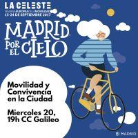 Cartel del debate: Movilidad y Convivencia en la Ciudad