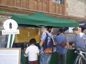 FestiBal - Visitantes del puesto de Pedalibre