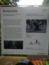 Medilab - cartel Biciescuela