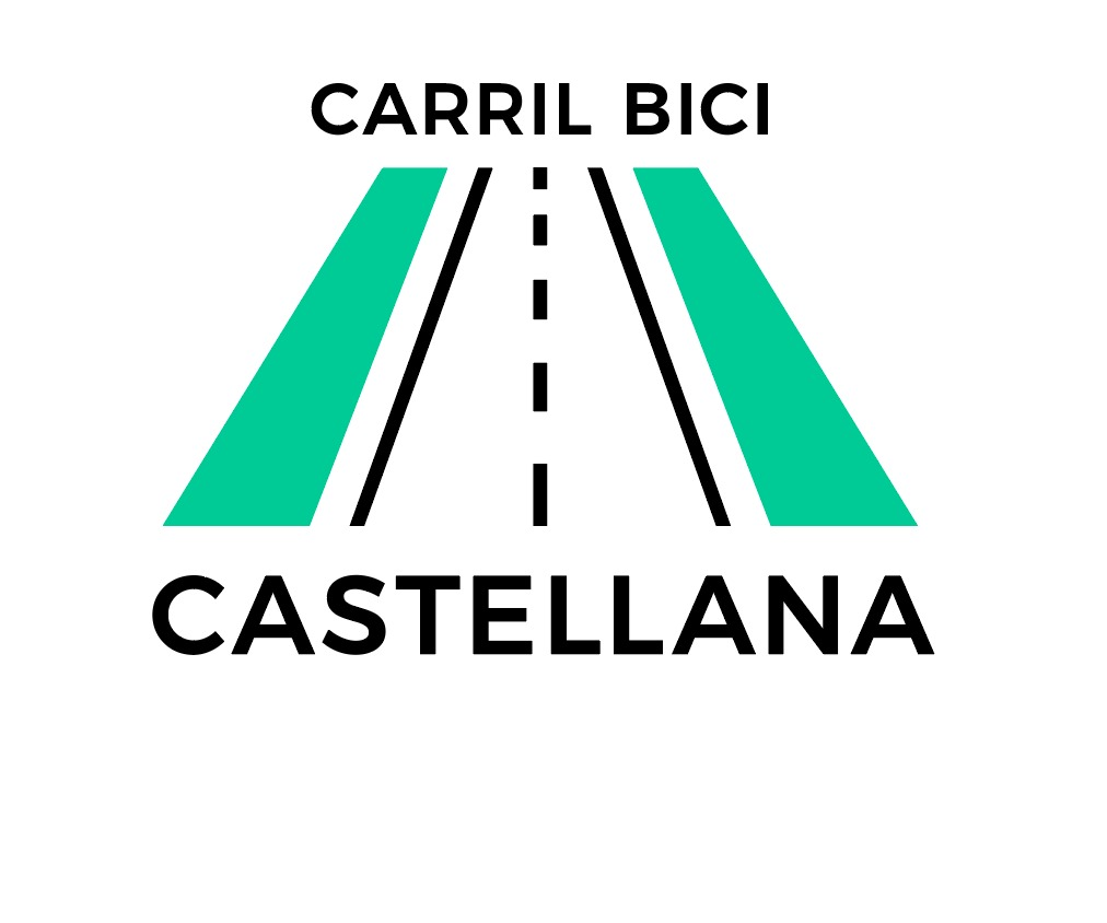 Logo Carril Bici Castellana