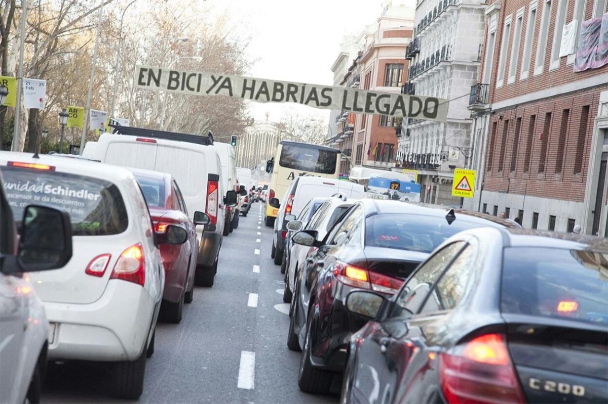 Por un carril bici en La Castellana (2ªactualización)