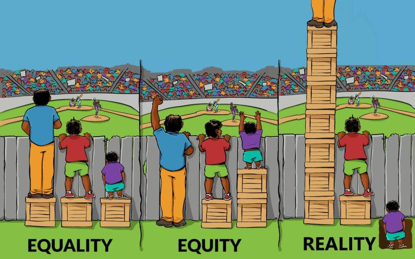 Equality-Equity-Reality