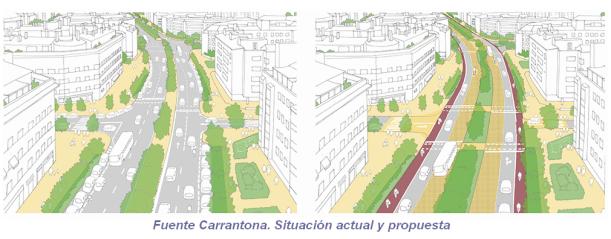 Fuente Carrantona. Situación actual y propuesta