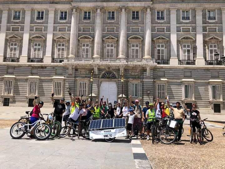 Bicifestación por un modelo energético y de movilidadsostenible