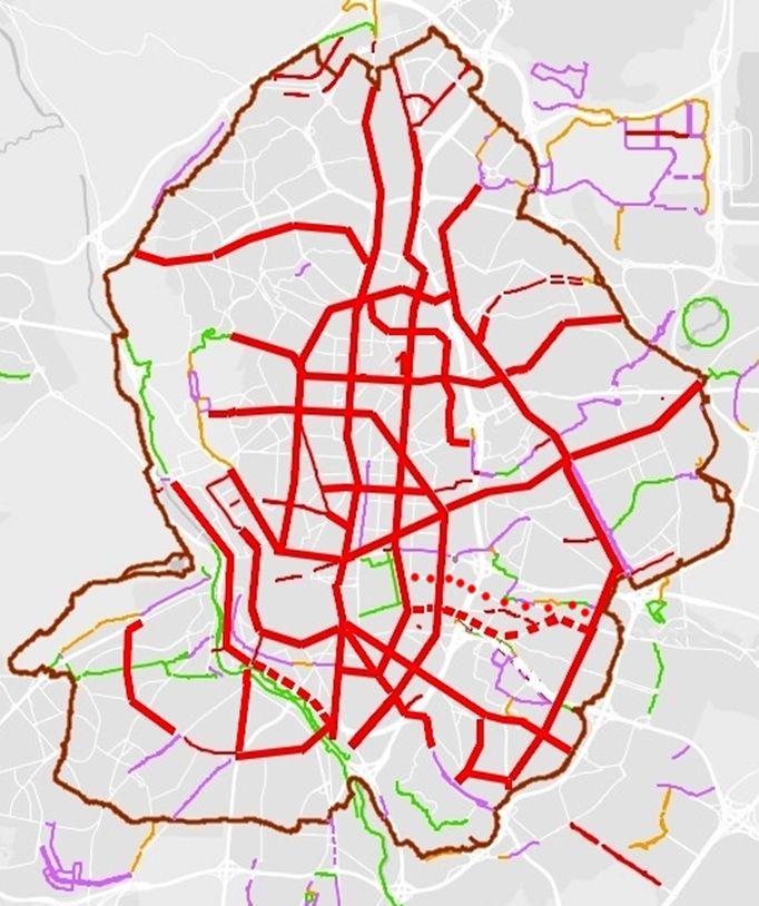Por una red ciclista para2021