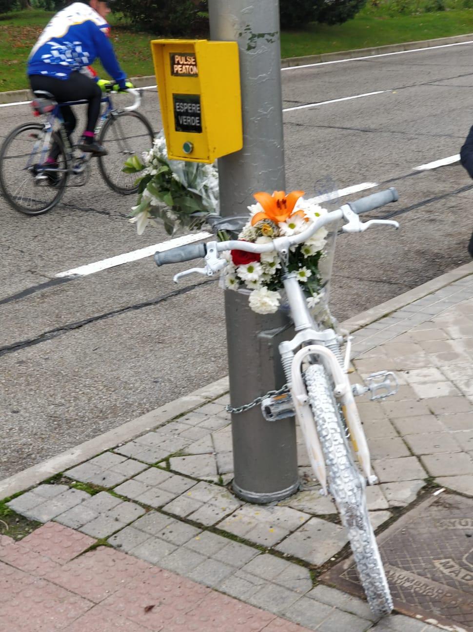 No más ciclistas muertos. No másatropellos