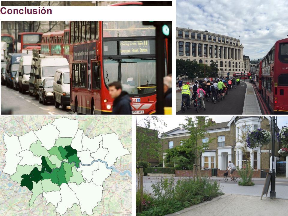 Ponencia de Rachel Aldred sobre mejoras ciclistas y peatonales enLondres