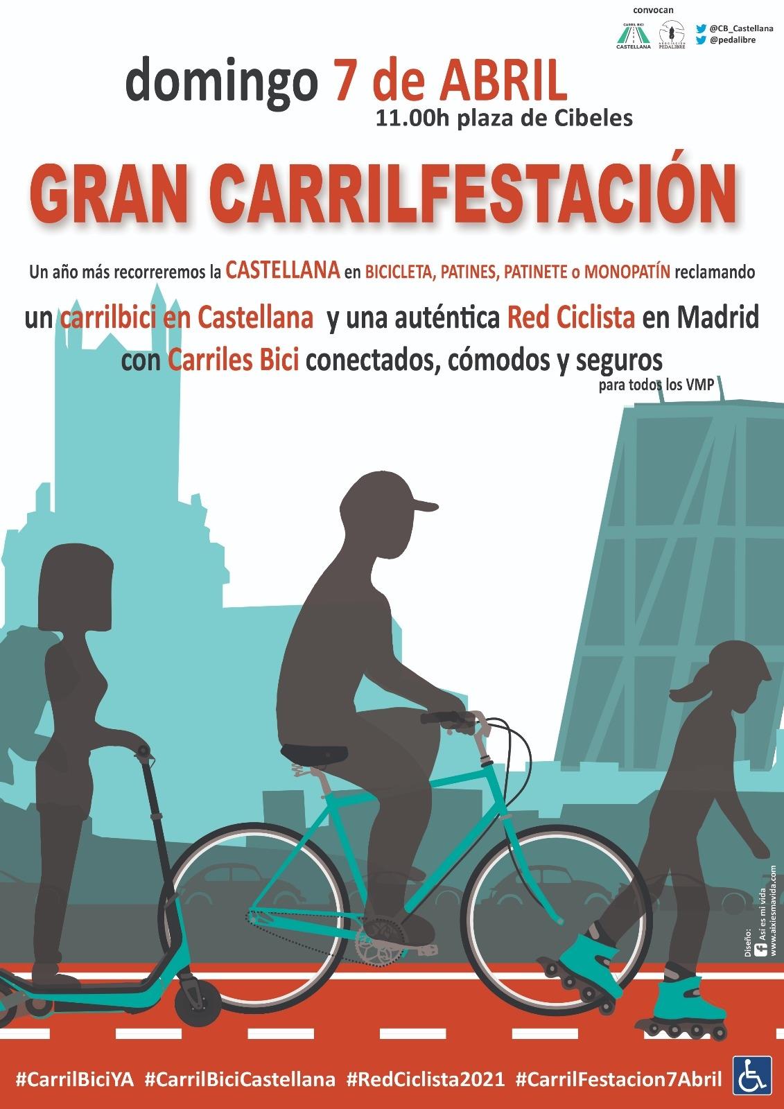 GRAN CARRILFESTACIÓN Recoletos – Plaza deCastilla