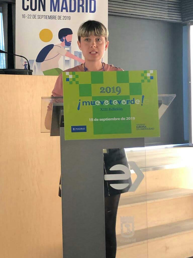 Pedalibre, premio Muévete Verde de movilidad urbana sostenible del Ayuntamiento deMadrid