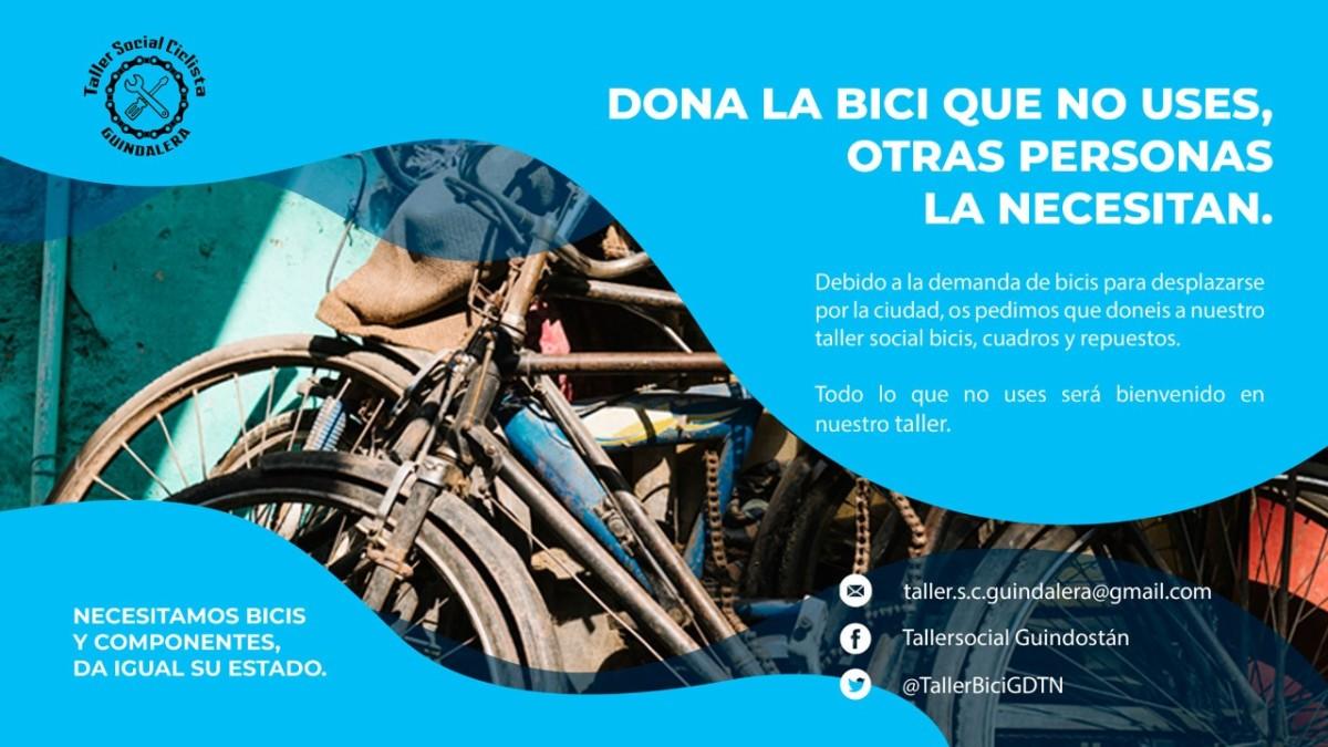 Taller social ciclistaGuindalera