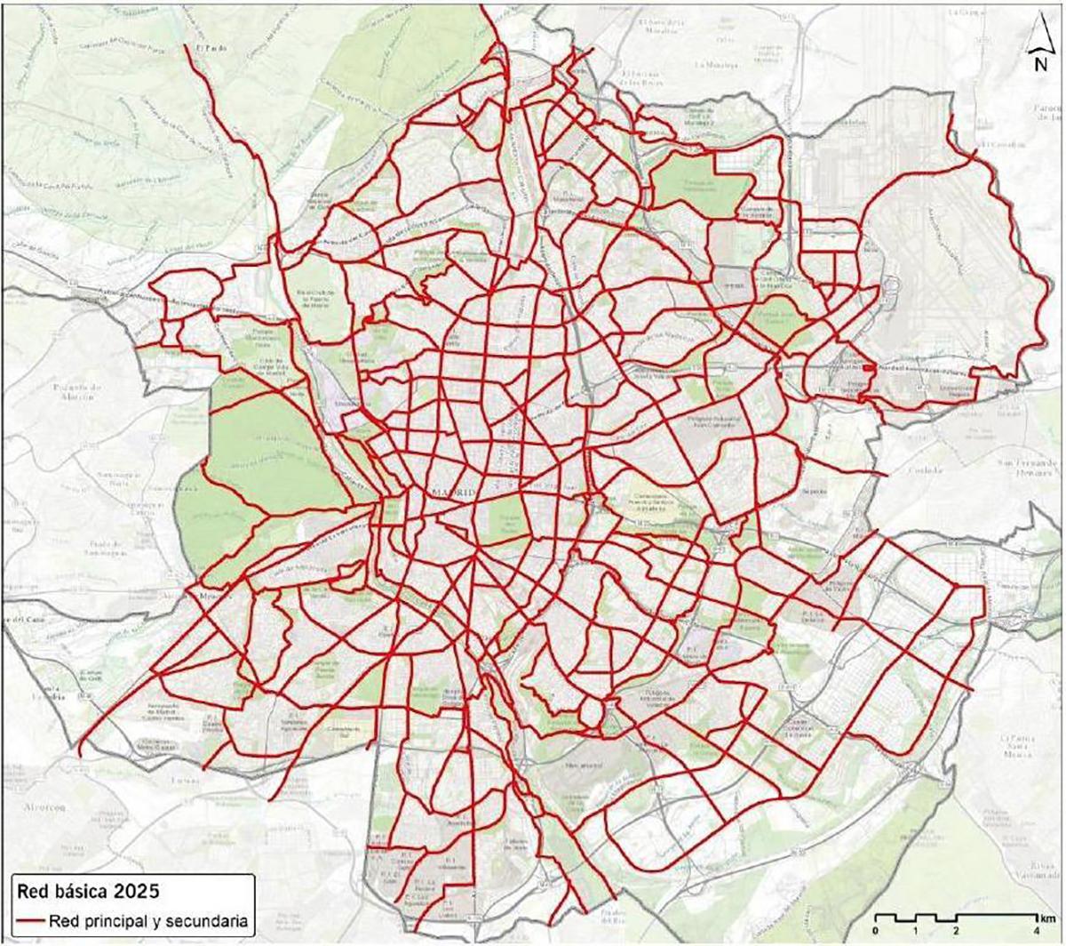Diversas asociaciones celebran el anuncio del Ayuntamiento de Madrid de construir los 100 km de carriles bici permanentes que estaban proyectados para 2020 y2021