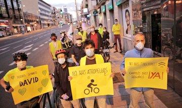 Atropello ciclista en Madrid en el Día Mundial de laBicicleta